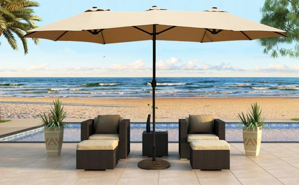 So What Doo You Need To Look For When Ing A Patio Umbrella Let S See If We Can Help